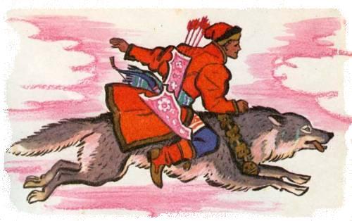 иван царевич и серый волк картинки к сказке